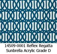 Sunbrella fabric 14509-0001 reflex regatta