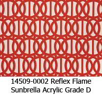 Sunbrella fabric 14509-0002 reflex flame