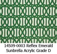 Sunbrella fabric 14509-0003 reflex emerald