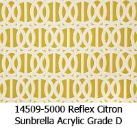 Sunbrella fabric 14509-5000 reflex citron