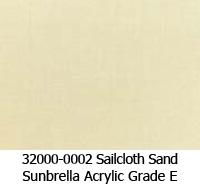 Sunbrella fabric 32000-0002 sailcloth sand
