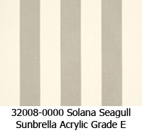 Sunbrella fabric 32008 solana seagull