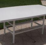40x72 bow edge dining table