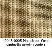 Sunbrella fabric 42048-0005 mainstreet wren