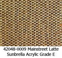 Sunbrella fabric 42048-0009 mainstreet latte