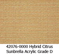 Sunbrella fabric 42076 hybrid citrus