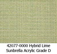Sunbrella fabric 42077 hybrid lime
