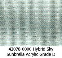 Sunbrella fabric 42078 hybrid sky