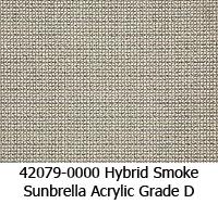Sunbrella fabric 42079 hybrid smoke