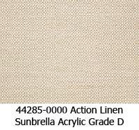 Sunbrella fabric 44285 action linen