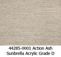 Sunbrella fabric 44285-0001 action ash