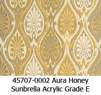 Sunbrella fabric 45707-0002 aura honey