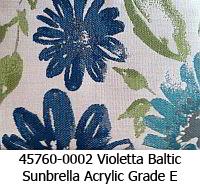 Sunbrella fabric 45760-0002 violetta baltic