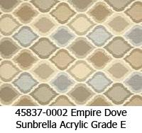 Sunbrella fabric 45837-0002 empire dove