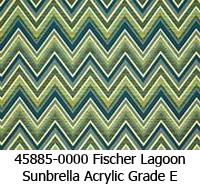 Sunbrella fabric 45885 fischer lagoon
