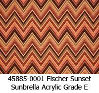 Sunbrella fabric 45885-0001 fischer sunset