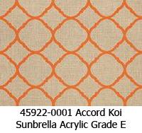 Sunbrella fabric 45922-0001 accord koi