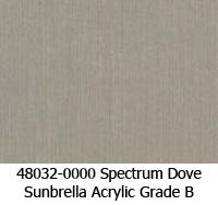 Sunbrella fabric 48032 spectrum dove
