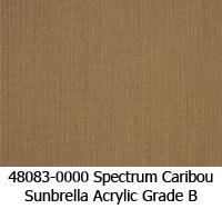 Sunbrella fabric 48083 spectrum caribou