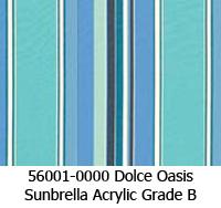 Sunbrella fabric 56001 dolce oasis