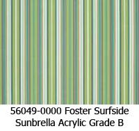 Sunbrella fabric 56049 foster surfside