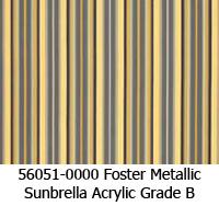 Sunbrella fabric 56051 foster metallic