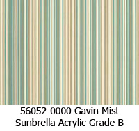 Sunbrella fabric 56052 gavin mist