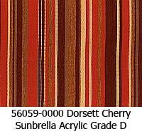 Sunbrella fabric 56059 dorset cherry