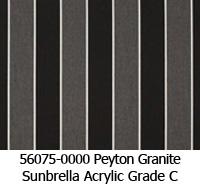 Sunbrella fabric 56075 peyton granite
