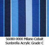 Sunbrella fabric 56080 milano cobalt