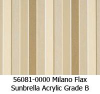 Sunbrella fabric 56081 milano flax