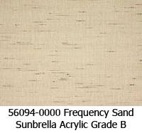 Sunbrella fabric 56094 frequency sand