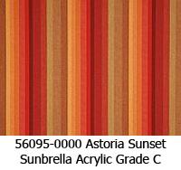 Sunbrella fabric 56095 astoria sunset