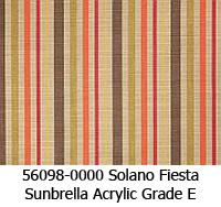 Sunbrella fabric 56098 solano fiesta