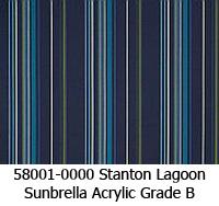 Sunbrella fabric 58001 stanton lagoon