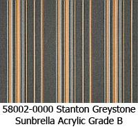 Sunbrella fabric 58002 stanton greystone