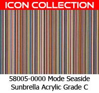 Sunbrella fabric 58005 mode seaside