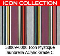 Sunbrella fabric 58009 icon mystique