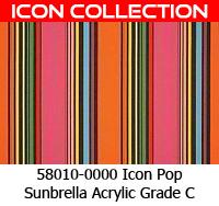 Sunbrella fabric 58010 icon pop