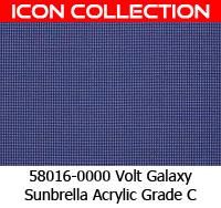 Sunbrella fabric 58016 volt galaxy