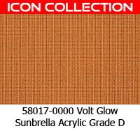 Sunbrella fabric 58017 volt glow