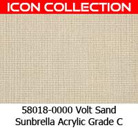 Sunbrella fabric 58018 volt sand
