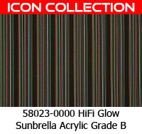 Sunbrella fabric 58023 hifi glow