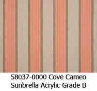 Sunbrella fabric 58037 cove cameo