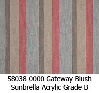 Sunbrella fabric 58038 gateway blush