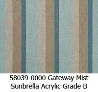 Sunbrella fabric 58039 gateway mist