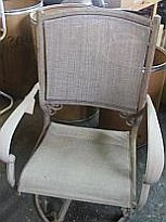 We do not sling chairs like this!