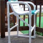 PVC strap bar chair