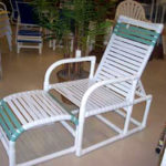 PVC strap recliner