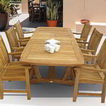 Teak Dining Tables & Chairs